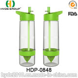 Plastic Tritan BPA Free Citrus Zinger Lemon Bottle, Hot Sale Plastic Fruit Infusion Bottle (HDP-0848)