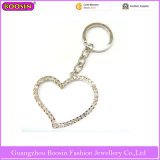 Custom Alloy Big Heart Shape Keychain at Factry Price (15425)