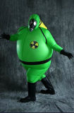 Eco-Friendly OEM Design Fashion Inflatable Latex Suit