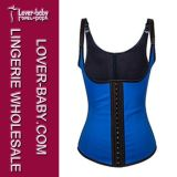 Woman Body Sexy Corset Slimming Rubber Waist Training Vest Corsets (L42635-1)