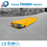 30t 4 Wheel Electric Battery Powered Die Transporter Rail Transfer Cart on-Rail
