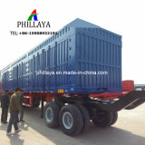 3 Axle Van Body Enclosed Cargo Transport Truck Semi Box Trailer