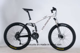 24 26 27.5 Inch Aluminum Alloy Duel Suspension 21 24 27 Speed Disc Brake Mountain Bike for Adult