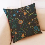 2018 New Factory Simple Plant Print Cushion Cover