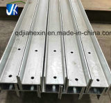 Custom Made Cutting Perforated Slotted Galvanized I Beam