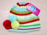 Baby′s Fashion Colorful Knitted Beanie Hat