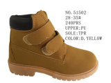 No. 51502 Kid's Shoes Winter Boot with Velcro Stock