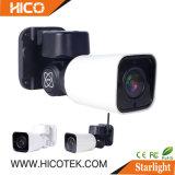 Mini Starlight Waterproof IR Bullet CCTV Ahd Wireless 4G WiFi Home Security DVR NVR Surveillance Digital Video Poe IP PTZ Camera Supplier