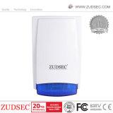 Wired Outdoor Siren Flash Lamp Waterproof Buzzer Use for Alarm System Warning Louder Speaker Strobe Siren