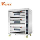 6 Trays Vigevr Commercial Bakery Bread Oven for Pizza Baking