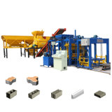 Qt5-15 Full Automatic Hydraulic Concrete Cement Hollow Paving Brick Block Making Machine Manufacturer Price