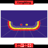 Baccarat Dedicated Casino Waterproof Table Layout -9 Player with Purple Color for Gambling Games (YM-BL05P1)