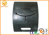 Black Portable Rubber Material Post Base/Rubber Pole Base