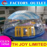 2018 Newest Inflatable Dome Tent, Clear Tent for Children, Million Sea Balls Inflatable Slide Toys
