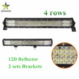 """New Wholesale IP68 20 Inch 42"""" 50"""" 52"""" 4 Row 12D CREE Auto Offroad LED Driving Light Bars for Car"""
