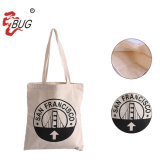 Promotional Custom Printed Eco Friendly Reusable Cloth Carry Bag 100% Natural Organic Cotton Shopping Tote Canvas Bags