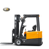 Small Narrow Mini Lifting Electric Forklift with Hawker Battery