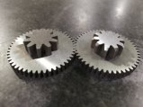 Double Gear with Wire Cutting Mahining