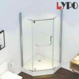 Foshan Factory Hot Sale Diamond Shape Shower Enclosure Frameless