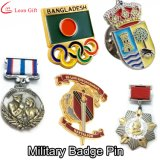 Factory Custom Names of Suppliers Police Gold Metal Craft Enamel Lapel Pin Badge