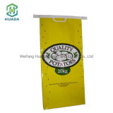 Wholesales Custom Logo Printed Cheap 25kg 50kg Laminated Polypropylene Packaging Potato Rice Food Bag