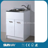 Hot Sale Stainless Steel Laundry Cabinet Sw-LC1206
