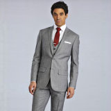 Custom Top Brand Latest Design Grey Coat Pant Men Suit