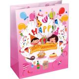 Cute Birthday Gift Paper Bag Carrier Bag Shopping Paper Bag