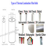 All Types Thermal Laminating Film/Plastic Laminate Rolls for Printing Laminate