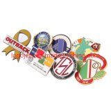 Wholesale Imitation Hard Enamel Customized Badge Lapel Pin Promotional Souvenir with Butterfly Clutch