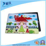 A3, A4 A5 Size Farbic+ Ruber Square Mouse Pad (Blank)