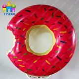Donut Pool Float Swimming Ring Strawberry Frosted with Sprinkle