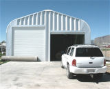 Double Space Prefab Light Steel Structure for Mini Garage (KXD-112)