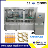 China Manufacturer of Carbonated Drink Filling Bottling Plant for Glass Bottle