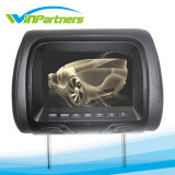 TFT Color Monitor with Pillow, 7inch Car Headrest Monitor