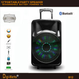 12′′ Multimedia Party DJ Wireless Karaoke Trolley Bluetooth Active Speaker