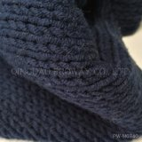 Acrylic /Cotton Blended Yarn with Bulky Look and Soft Handfeel