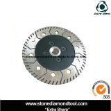 100mm Diamond Stone Cutting Saw Blade with Flange