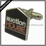Metal Enamel Cufflink for Custom Made with Logo (BYH-10227)
