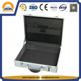 Aluminum Briefcase with Pocket and Two Locks (HL-2219)