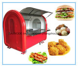 Low Price Mobile Food Cart Snack Cart