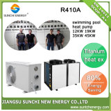 Swimming Pool 12kw/19kw/35kw/70kw Cop4.62 Anti-Corrosion Titanium Heat Pump