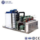 Cooling Water Facility Water Dispenser with Ice Maker Flake Ice Machine