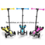 LED Light 3 Wheels Sprayer Rocket Scooter for Kids Only