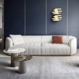 Modern Hotel Furniture Net Red Villa Leather Sofa