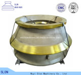 Symons Metso Nordberg Sandvik Terex Telsmith Pegson Svedala Concave and Mantle Crusher Parts for Cone Crusher