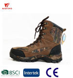 Winter Outdoor Leather Camo Waterproof Warm Hiking Boot