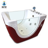 Massage Bathtub for Children Outdoor with Glass Design