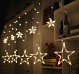 200cm Connectable Outdoor Decorative LED Star String Lights for Festival Celebration