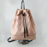 New Design Drawstring PU Leather School Bag Wholesale Girls Book Bag Big Capacity Women Backpack